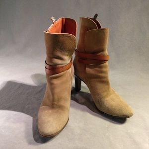 Suede Chloe Ankle Boots